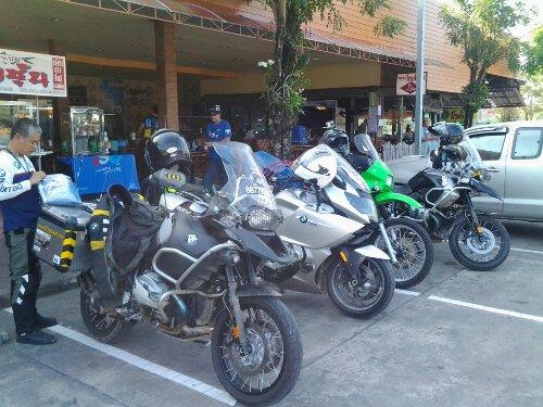 Riding Thailand